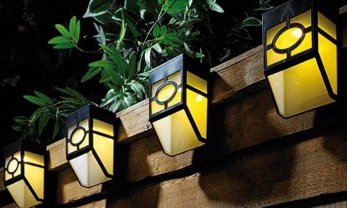 outdoor-solar-fence-lights
