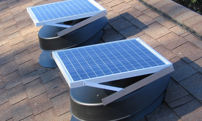 best solar attic fan