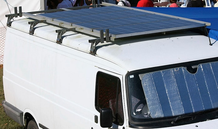 best solar panels for van