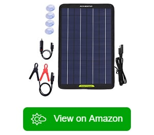 MARATTI Flexible Solar Panel Kit with 30W Solar Panel Charger Regulator and Car Charger for 5//18 Volt Car RV Vehicle Marine Boat Home Off Grid System.